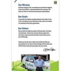 Green Energy of SA Retractable Banner