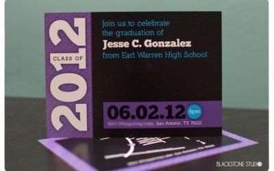 Graduation Party Invites for Jesse C. Gonzalez
