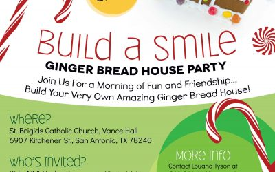 Build A Smile Ginger Bread House Party