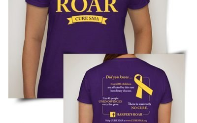 Harper's Roar – Help raise awareness for SMA!