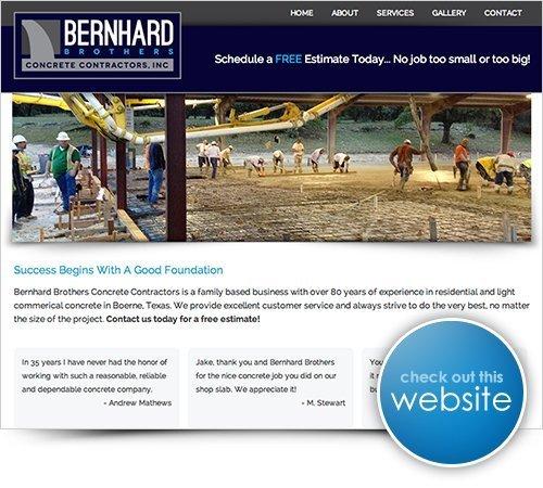 Bernhard Brothers Website