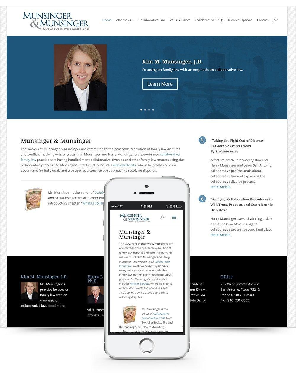 Munsinger & Munsinger Website