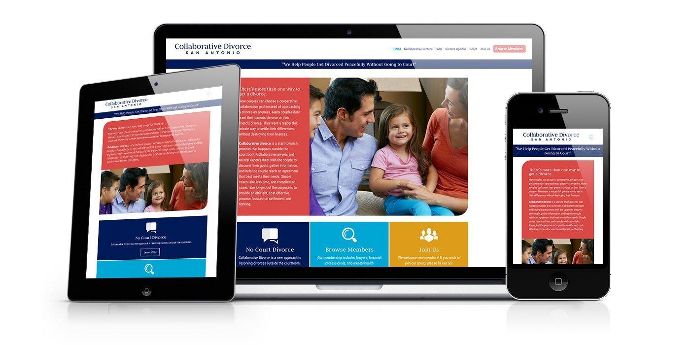 Collaborative Divorce San Antonio Website