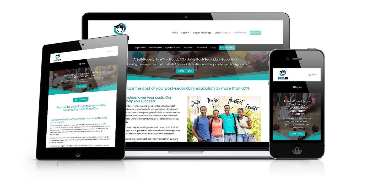 EcoEDI Website Design