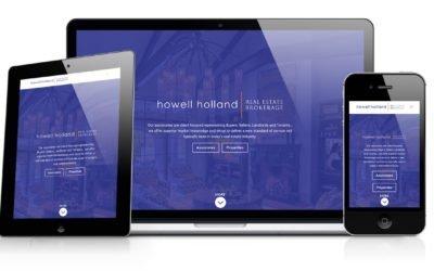 Howell Holland Website Redesign