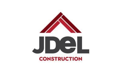 JDEL Construction Logo Design