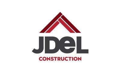 JDEL Construction Logo Design