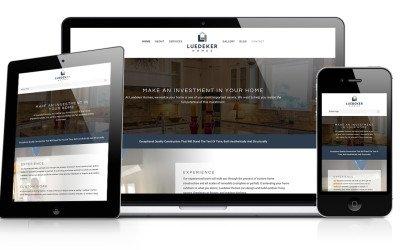 Luedeker Homes Website