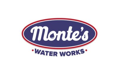 Monte's Water Works Logo Design