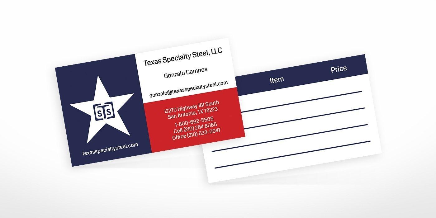 Business card design work samples blackstone studio reheart Gallery