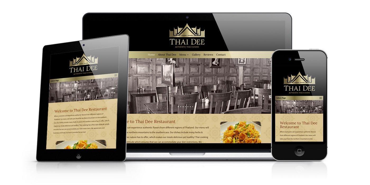Thai Dee Website