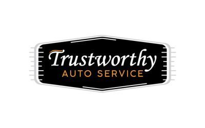 Trustworthy Auto Service Logo Design