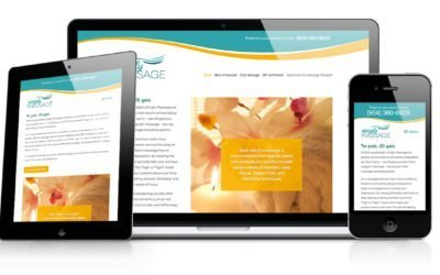 Simply Massage Website Design