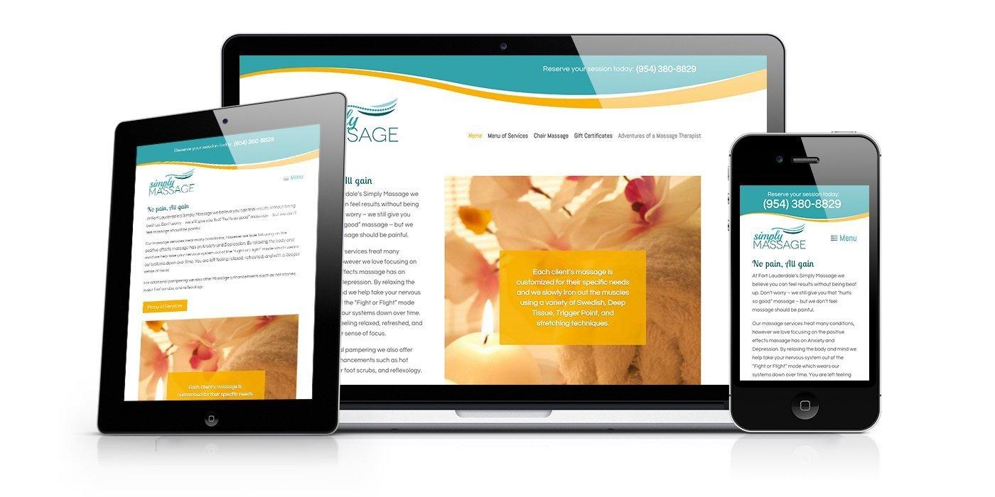 Simply Massage Website