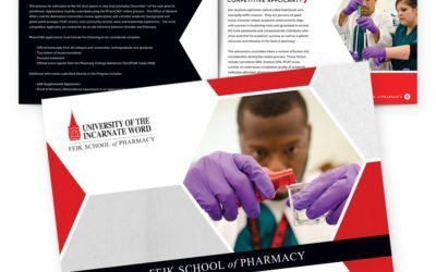 UIW Feik School of Pharmacy Brochure Design