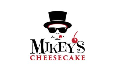Mikey's Cheesecake Logo Design