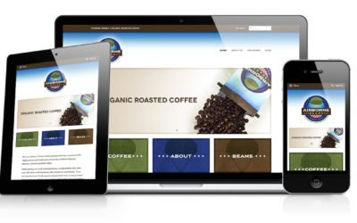 Airborne Beans Website Design