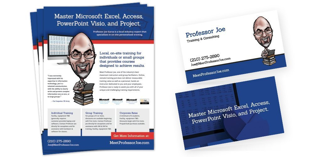 check out these new items that blackstone studio designed for professor joe a local professor who offers onsite and classes for programs like