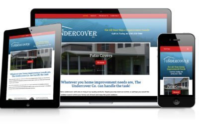 The Undercover Co Website Design