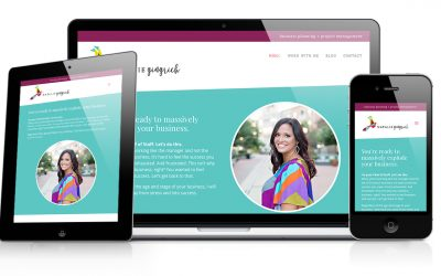 Natalie Gingrich Website Design