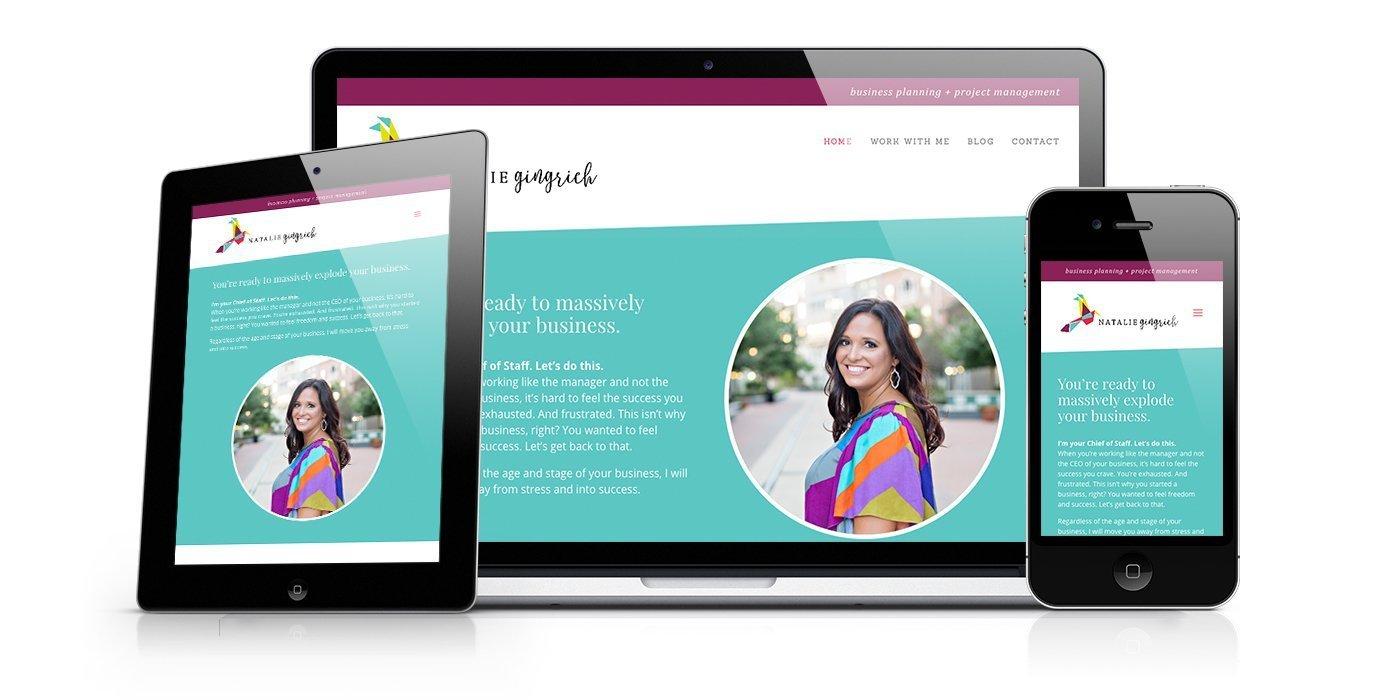 Natalie Gingrich Website