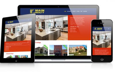 Main Realty Website Design