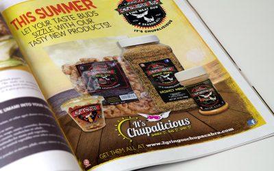 2 Gringos Chupacabra Ad Design