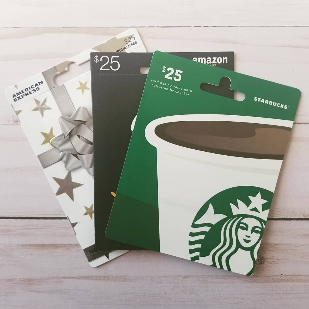 Giveaway Gift Cards