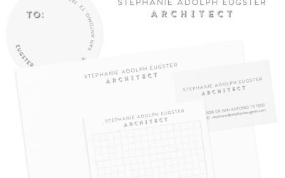 Stephanie Adolph Eugster Logo & Stationery Design