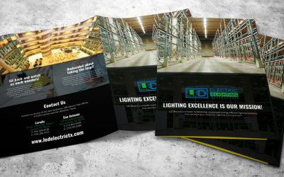 LED Electric Foldover Brochure