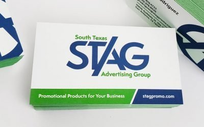 South Texas Advertising Group Business Card Design