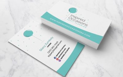Inspired Occasions Business Card Design