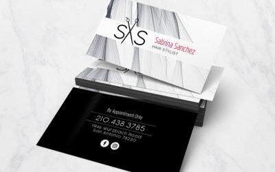 Sabrina Sanchez Business Card Design