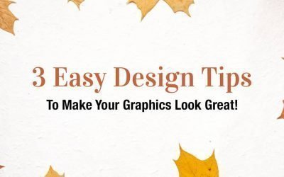 3 Easy Design Tips