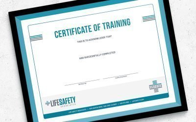 LifeSafety Certificate Design