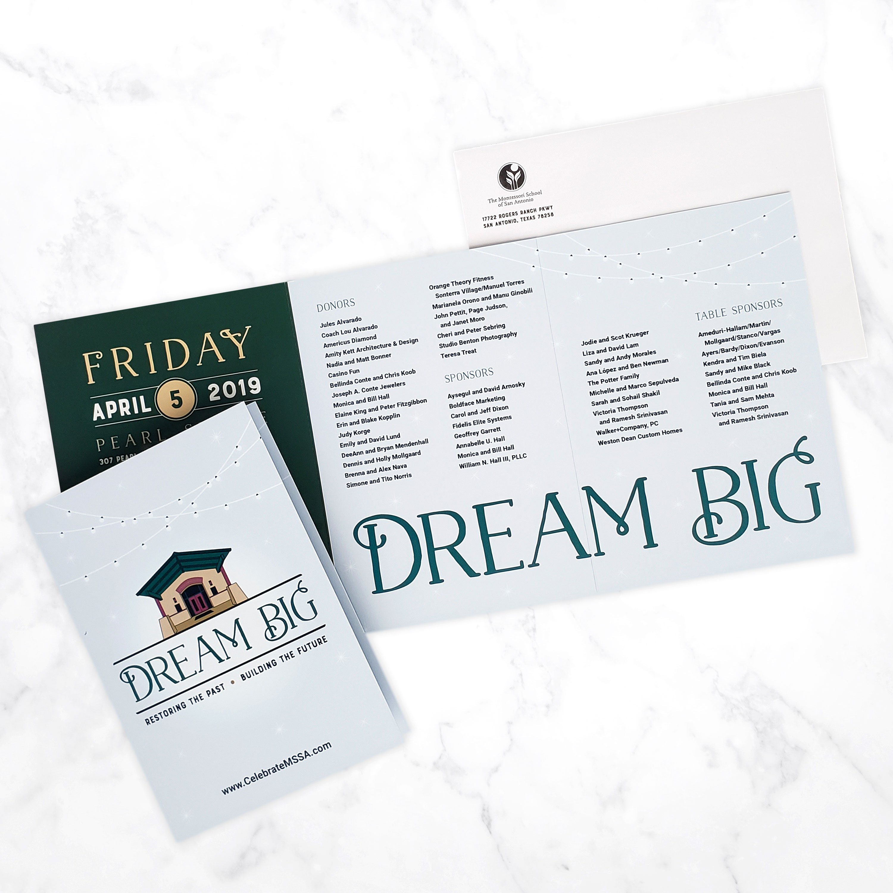 Dream Big Invitation