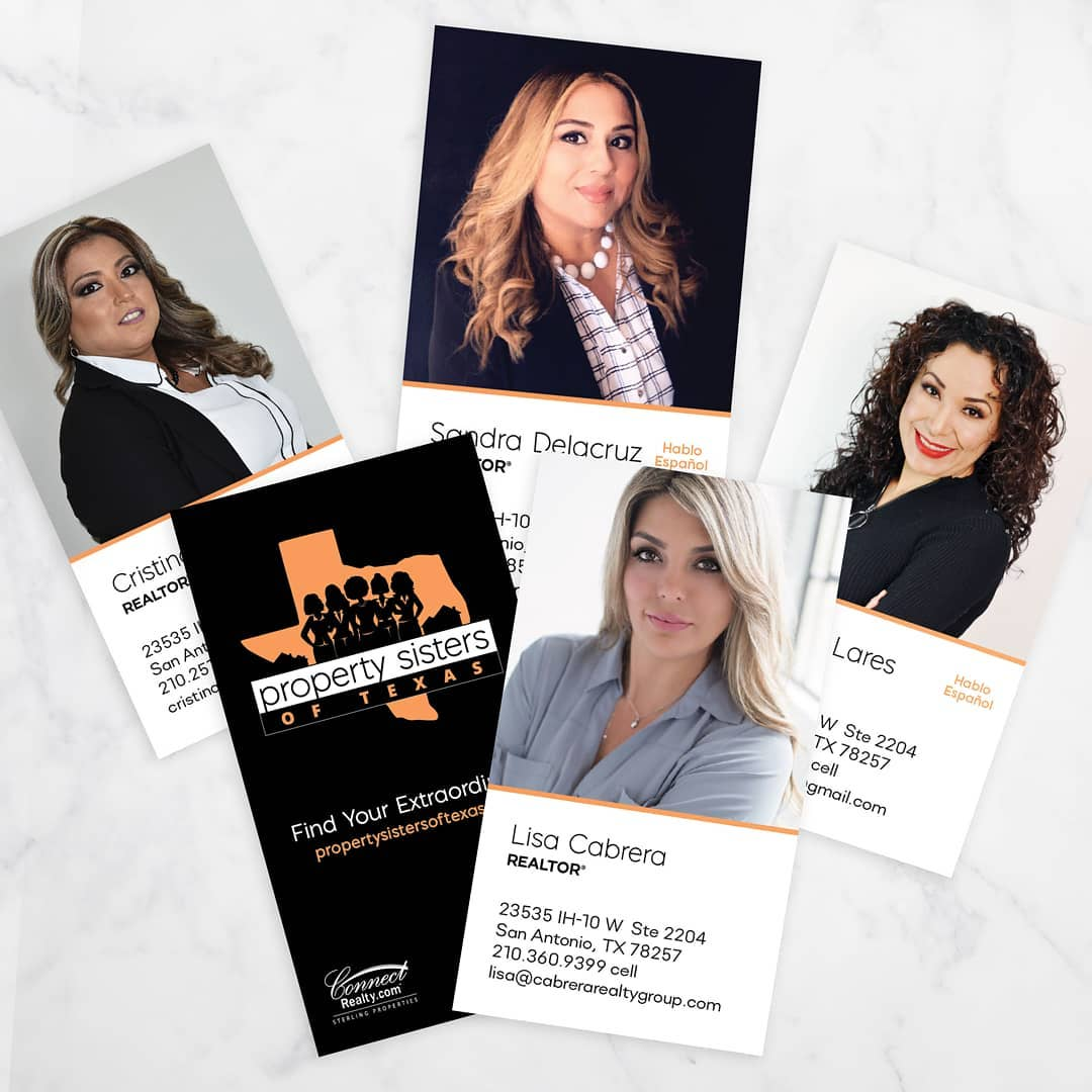 Property Sisters Business Cards