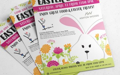 Easter Themed Flyers