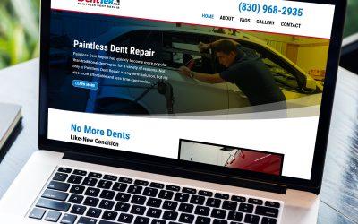 JAG'S DentTek Website Design