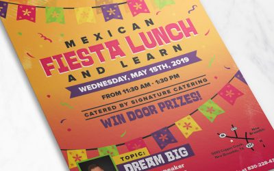 Mexican Fiesta Themed Flyer