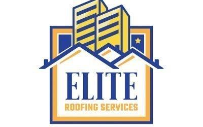 Elite Roofing Services Logo Design
