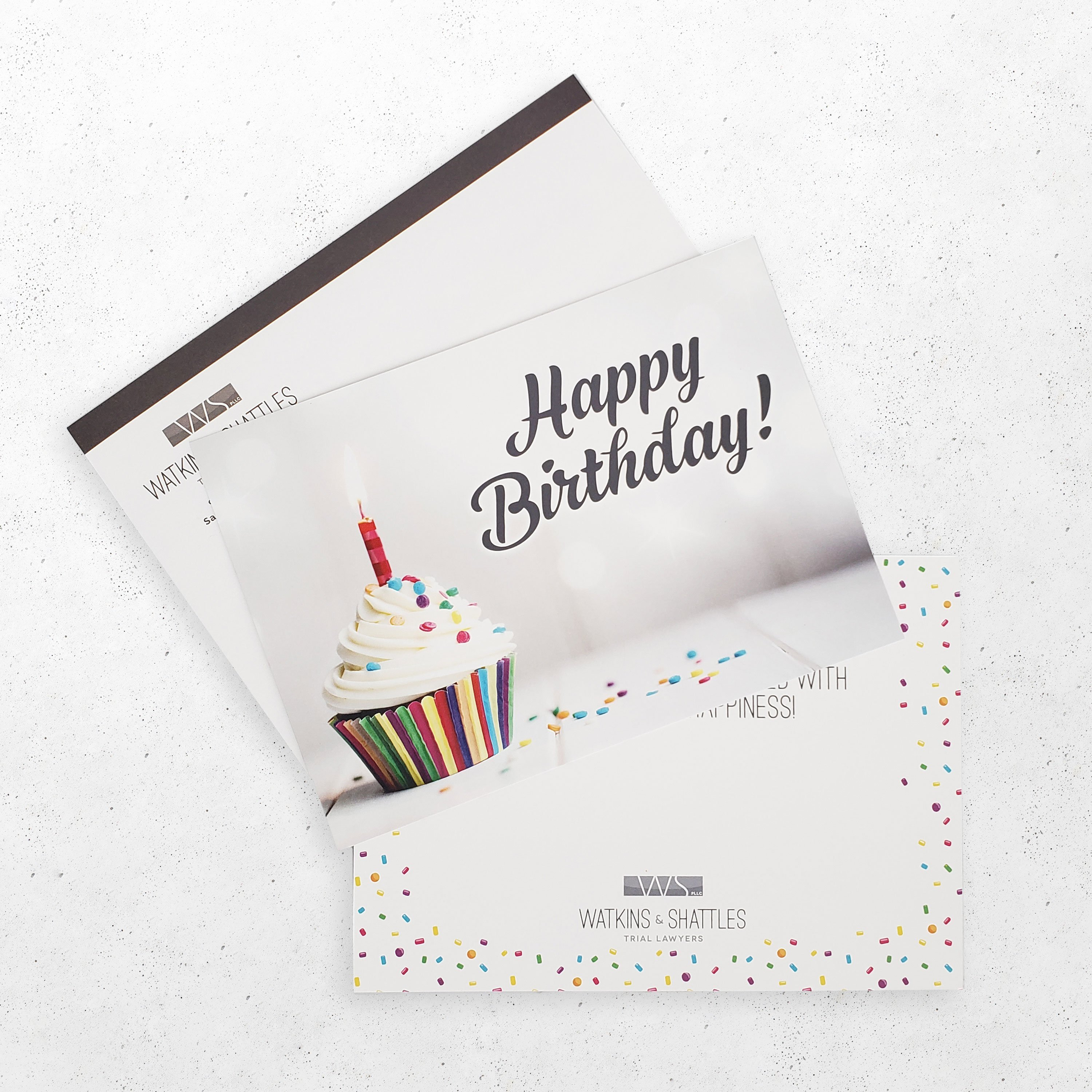 Watkins & Shattles Greeting Card