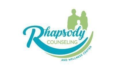 Rhapsody Counseling & Wellness Center Logo Design