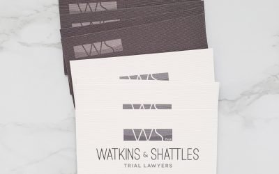 Watkins & Shattles Business Cards