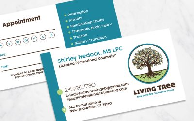 Living Tree Business Cards
