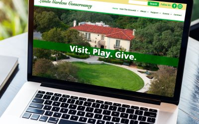 Landa Gardens Website Redesign