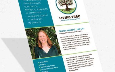 Living Tree Flyer Design