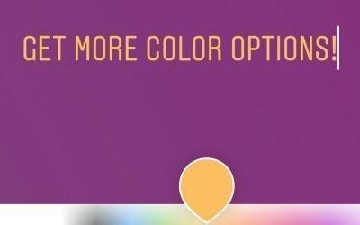 Get More Instagram Color Options!