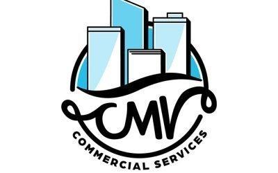 CMV Commercial Services Logo Design