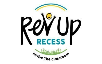Rev Up Recess Logo Design